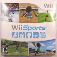 Wii Sports (Nintendo Wii, 2006) GUARANTEED Bowling Tennis Baseball Golf Boxing