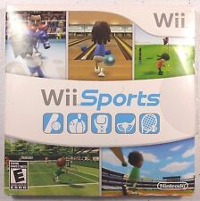 Wii Sports (Nintendo Wii, 2006) GUARANTEED Bowling Tennis Baseball Golf Boxing