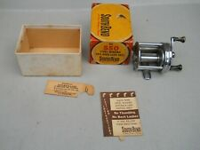 Vintage South Bend No. 550 Bait casting Reel With Original Box Paperwork Nice