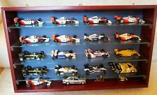 MINICHAMPS/LANG AYRTON SENNA RACING CAR COLLECTION IN DISPLAY CASE 1:43 SCALE