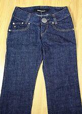 `MISS SIXTY ITALY BLUE MEDIUM WASH 100% COTTON MID RISE STRAIGHT LEG JEANS 30/40