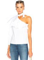 Veronica Beard Jenning Peplum Hem Sleeveless Top Off White 2 4 6 NWT $395
