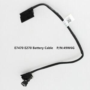 For Dell Latitude E7470 E7270 Battery Cable  049W6G 49W6G
