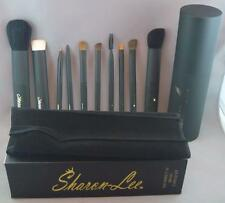 SALE - Sharon-Lee PERFECT 10 Makeup BRUSH SET - PROFESSIONAL QUALITY Carry Case