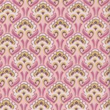 Rectella Cotton Interiors Fabric /'Chatham/' Green Art Nouveau Design per Metre