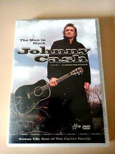 The Man In Black: Johnny Cash - Genuine Region 4 Documentary DVD & Bonus CD