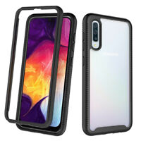 Defense Case For Samsung Galaxy A50 Full Body Shockproof With Screen Protector
