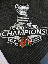 """Chicago Blackhawks Vintage RARE Embroidered Iron On Patch 4"""" X 3.75"""""""