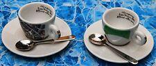 2 Cups Tazze Tazzine illy Collection E X P O Mi 2015 +2 piattini +2 cucchiaini