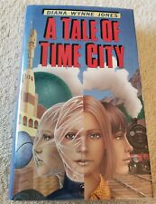 Diana Wynne Jones-A Tale of Time City-1987 1st English edition in dust jacket