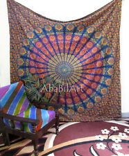 Indian Mandala Wall Hanging Tapestry Throw Hippie Bedspread Gypsy Queen Blanket