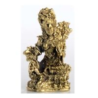 Grüne Tara - Green Tara - Mini Buddha - Ministatue - Höhe 3 cm Handarbeit Nepal