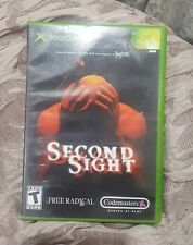Second Sight (Microsoft Xbox, 2004) - case & game no manual. Free fast shipping