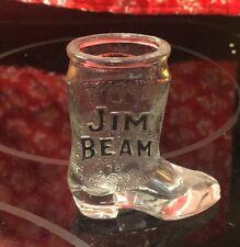 Collectible Vintage Jim Beam Boot Shot Glass