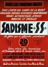 affiche du film SADISME SS 120x160 cm