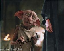 Toby Jones Harry Potter Autographed Signed 8x10 Photo COA