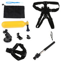 8 in 1 Action Camera Accessory Kit Bundle Set for GoPro Hero Camera