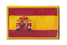 Écusson patche Espagne drapeau petit patch 45 x 30 mm thermocollant