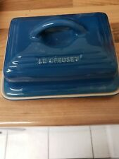Le Creuset  Butter Dish in blue