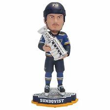 Oskar Sundqvist St. Louis Blues 2019 Stanley Cup Champions Bobblehead NHL