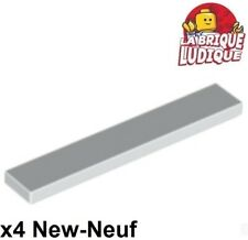 bright light orange 6 x LEGO 3070 Plaque Lisse Plate Tile 1x1 With Groove NEW