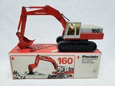 Conrad Poclain 160 Hydraulic Shovel Excavator Red/White 1:50 Diecast w/ Box 2897