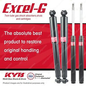 Front + Rear KYB EXCEL-G Shock Absorbers for VOLVO 240 I4 RWD Sedan Wagon