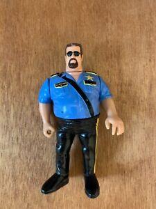1990 WWF Big Boss Man Wrestling Action Figure