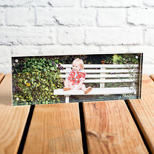 PANORAMIC CHUNKY ACRYLIC MAGNETIC PHOTO BLOCK- Ideal for iPhone Panoramic Photos