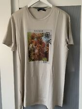 Dolce and Gabbana  Sicilia men light tshirt top size 54 100% authentic