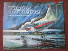 BROCHURE ROHR CORP THRUST REVERSERS BUSINESS JET AIRCRAFT INVERSEUR DE POUSSEE