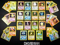 BASE SET Pokemon card bundle Choose individual card Holo Rare - Charizard WOTC