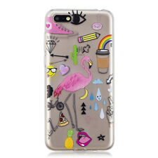 Shockproof Anti-Scratch Clear Soft TPU Bumper Case Cover For Huawei Y5 Y6 2018