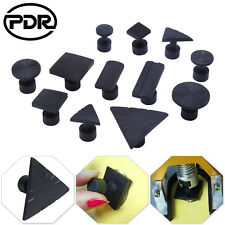 US 12x PDR Paintless Dent Repair Removal Dent Puller Tabs Tools Pulling Black