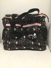 Sanrio Kuromi Tote Bag Skull Shoulder Weekend Bag Diaper Bag Cotton