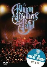 THE ALLMAN BROTHERS BAND - LIVE AT GREAT WOODS  DVD NEU