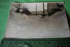 tolles altes Foto eingeschneiter Ort - Mesch??? vollgenossenschaftliches störfre