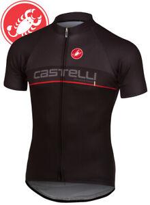 Castelli Servizio Corsa Men's Team Cycling Jersey Size XS, s, M, XXXL