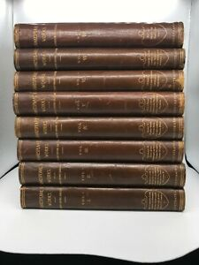 The Works of William Shakespeare-Henry Irving-compl 8 vols set - 1898