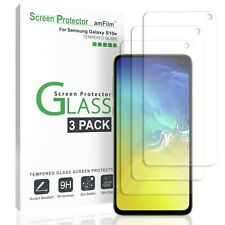 Samsung Galaxy S10e amFilm Premium Real Tempered Glass Screen Protector (3 Pack)