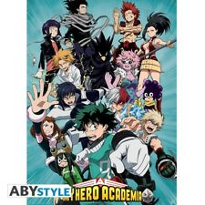"MY HERO ACADEMIA - Poster ""Heroes"" (52x38) -  official merch"