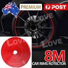 8M Car Truck Wheel Rim Protector Tire Guard Line Rubber Moulding Decor AU Stock