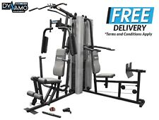 Home Gym Multistation 300 LBS Weight Stack Power Tower Leg Press Chest Press