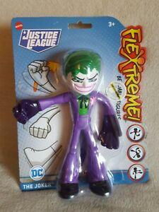 """Mattel Justice League DC The Joker Flextreme Bendable 7"""" Figure~New"""