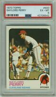 1973 Topps GAYLORD PERRY #400 PSA 6 GRADED BGS BVG EX-MT HOF CY YOUNG LOOK! 👀🔥