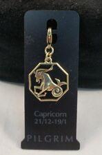 Pilgrim Capricorn Charm Gold NWT 444100
