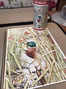 VINTAGE ARTLINES PUZZLE THE Mallard 300 PCS  SHEILA MANNES-ABBOTT