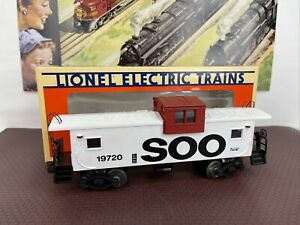 LIONEL 6-19720 SOO Line Extended Vision Caboose OB MINT 1991