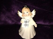 Vintage 1984 Ebeling & Reuss Co Musical Angel Ornament