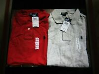 Ralph Lauren Kids Polo Collared Shirt Boys Short Sleeve Size Large Choose Color